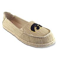 Women's Campus Cruzerz Iowa Hawkeyes Sparkle Cabo Slip-On Shoes