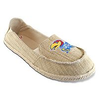 Women's Campus Cruzerz Kansas Jayhawks Sparkle Cabo Slip-On Shoes