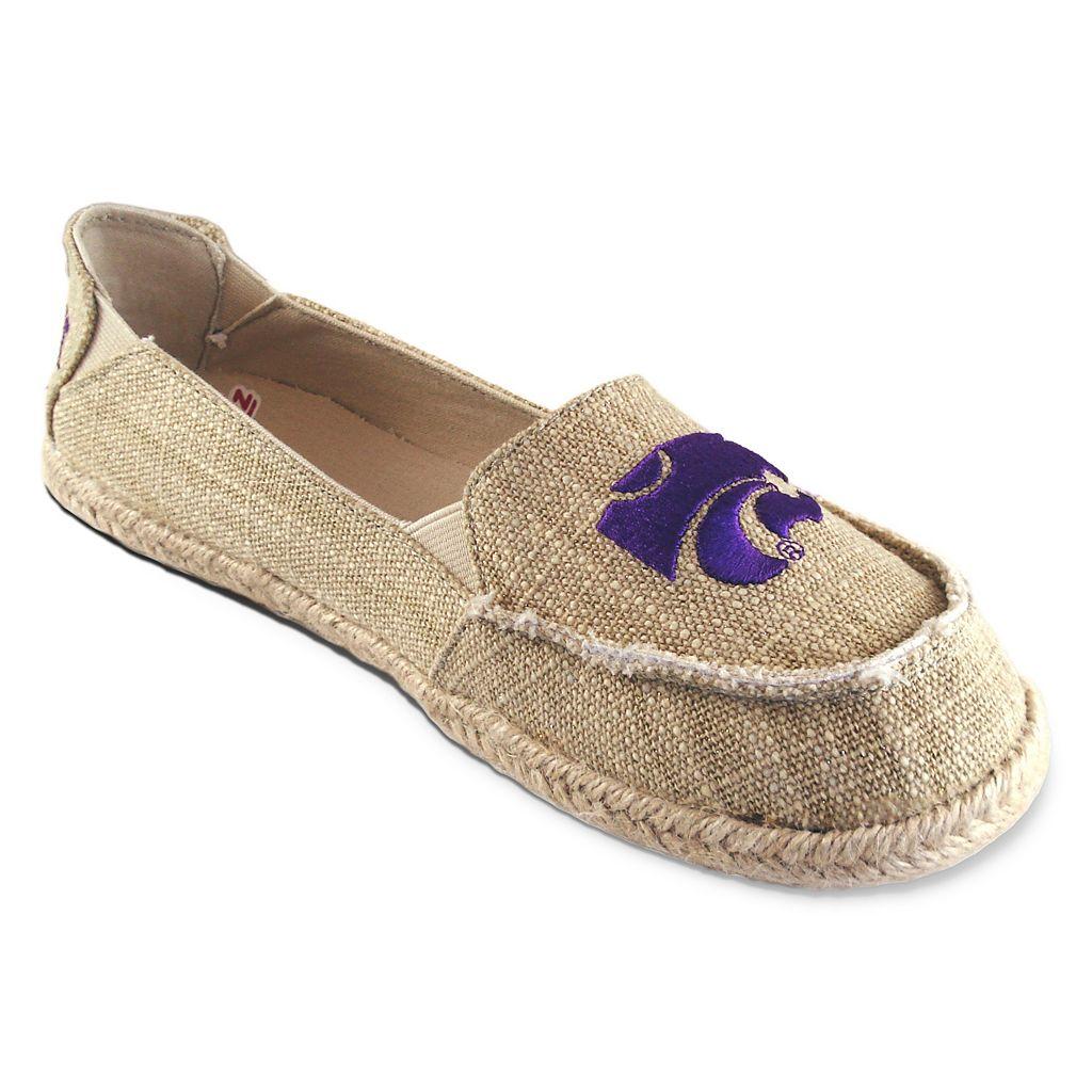 Women's Campus Cruzerz Kansas State Wildcats Sparkle Cabo Slip-On Shoes