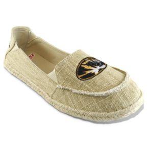 Women's Campus Cruzerz Missouri Tigers Sparkle Cabo Slip-On Shoes