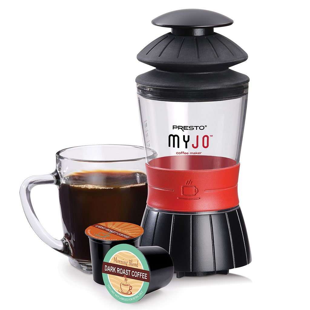 Presto MyJo Single-Serve Coffee Maker