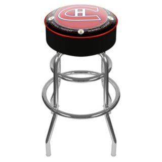 Montreal Canadiens Padded Swivel Bar Stool