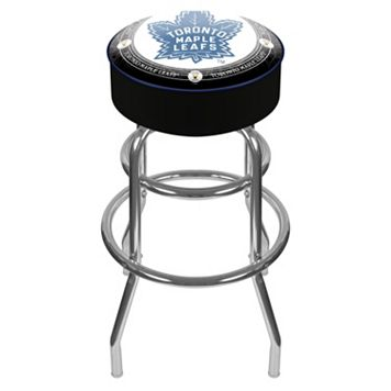 Toronto Maple Leafs Padded Swivel Bar Stool