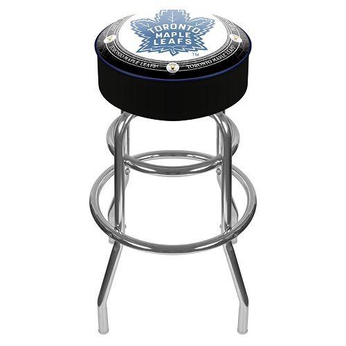 Toronto Maple Leafs Padded Swivel Bar Stool