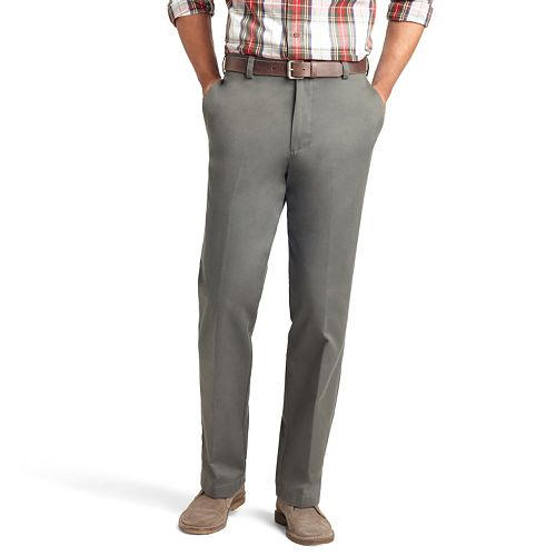 Men's IZOD American Chino Classic-Fit Wrinkle-Free Flat-Front Pants