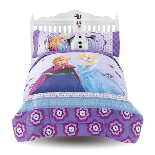 Disney Frozen Melt My Heart Reversible Comforter - Twin/Full
