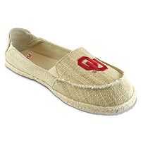 Women's Campus Cruzerz Oklahoma Sooners Sparkle Cabo Slip-On Shoes