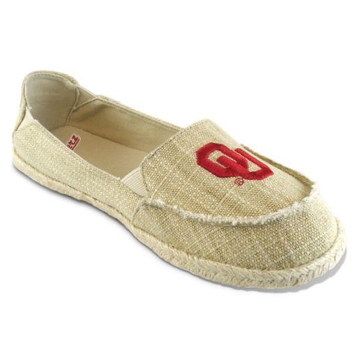 Women's Campus Cruzerz Oklahoma Sooners Sparkle Cabo Slip-On Shoes