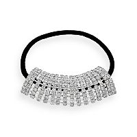 Crystal Allure Ponytail Holder