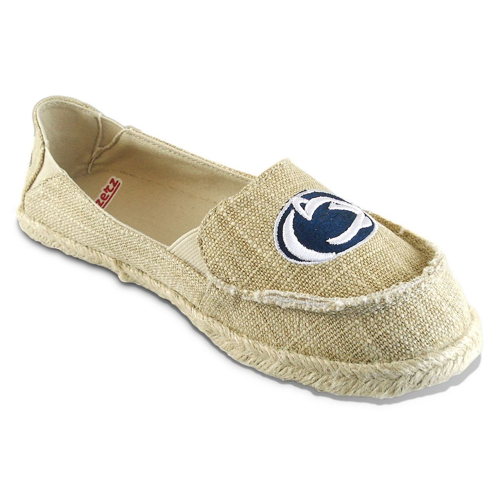 Women's Campus Cruzerz Penn State Nittany Lions Sparkle Cabo Slip-On Shoes
