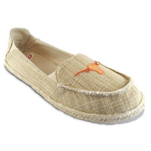 Women's Campus Cruzerz Texas Longhorns Sparkle Cabo Slip-On Shoes