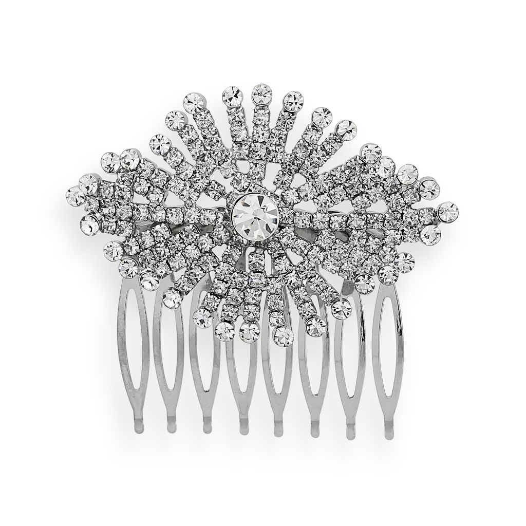 Crystal Allure Starburst Hair Comb