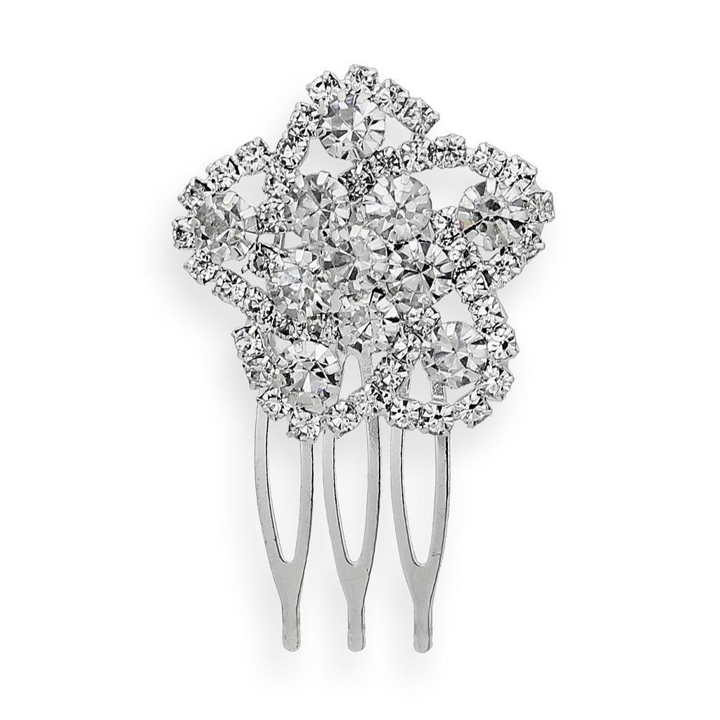 Crystal Allure Crystal Flower Hair Comb