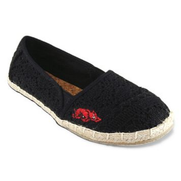 Women's Campus Cruzerz Arkansas Razorbacks Napili Slip-On Shoes