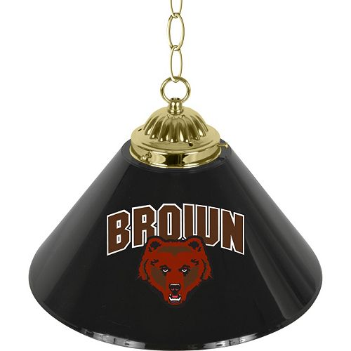 "Brown Bears Single-Shade 14"" Bar Lamp"