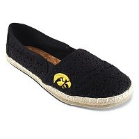 Women's Campus Cruzerz Iowa Hawkeyes Napili Slip-On Shoes