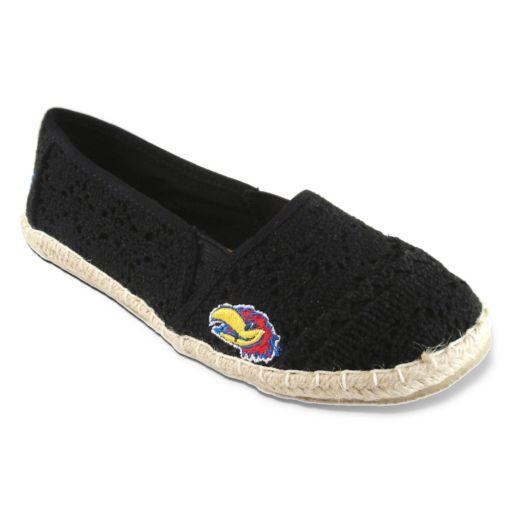 Women's Campus Cruzerz Kansas Jayhawks Napili Slip-On Shoes