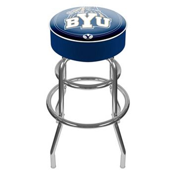 BYU Cougars Padded Swivel Bar Stool