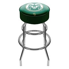 Colorado State Rams Padded Swivel Bar Stool