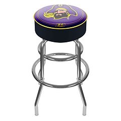 East Carolina Pirates Padded Swivel Bar Stool