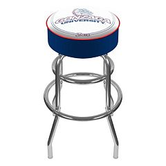 Gonzaga Bulldogs Padded Swivel Bar Stool