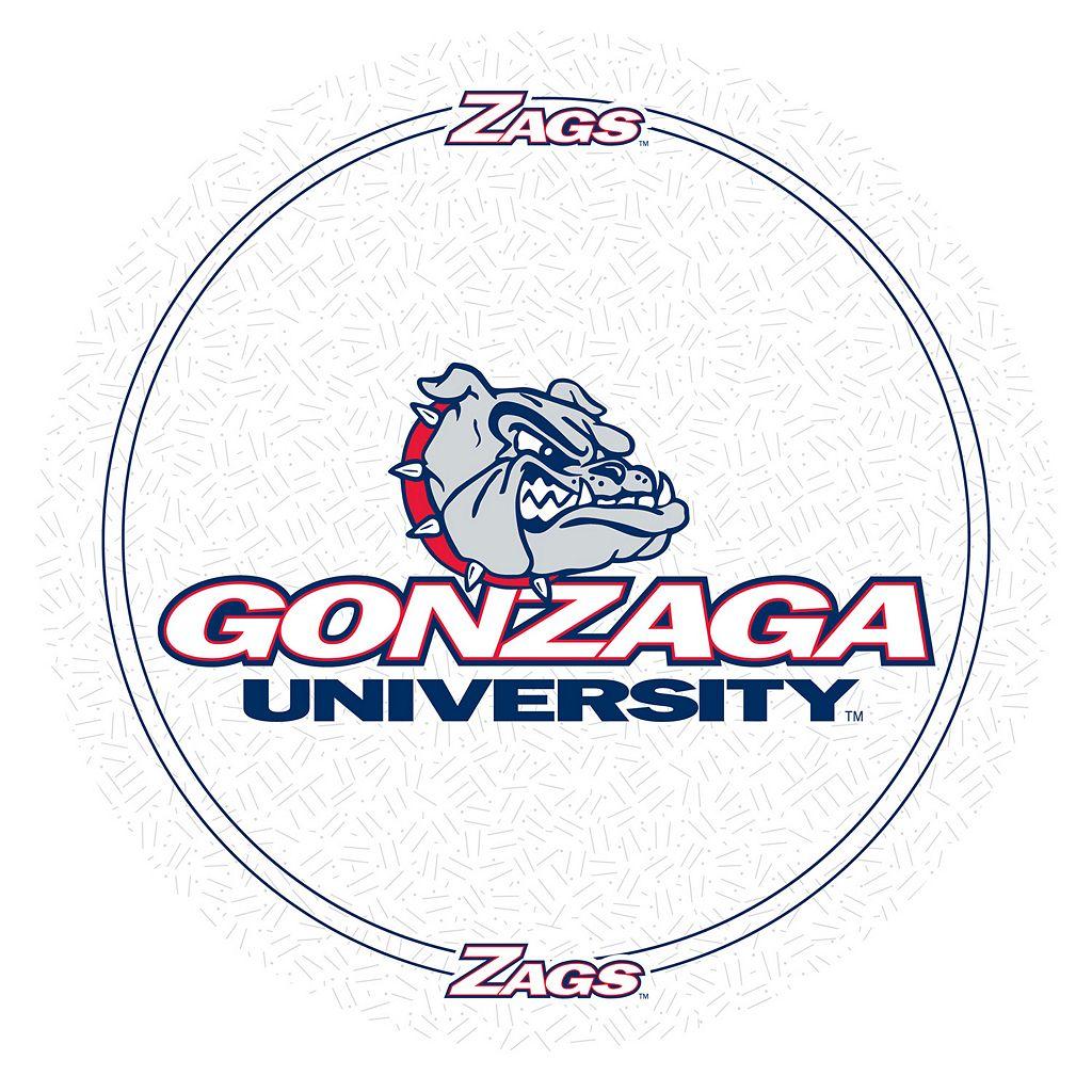 Gonzaga Bulldogs Padded Swivel Bar Stool