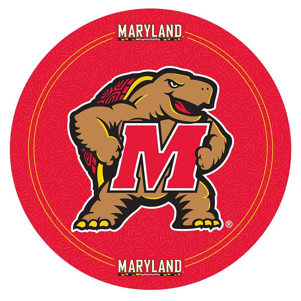 Maryland Terrapins Padded Swivel Bar Stool