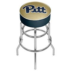 Pitt Panthers Padded Swivel Bar Stool