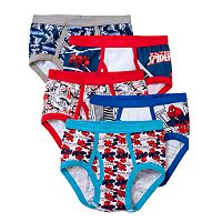Boys 4-8 Marvel Spider-Man 5-pk. Briefs