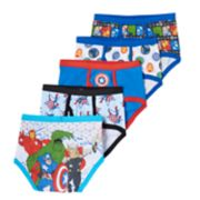 Avengers Assemble 5-pk. Briefs - Boys 4-8