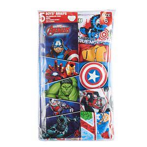 Boys Avengers Assemble 5-pk. Briefs