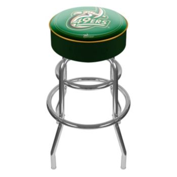 Charlotte 49ers Padded Swivel Bar Stool