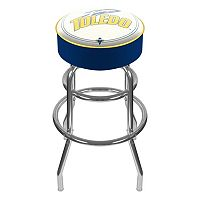 Toledo Rockets Padded Swivel Bar Stool