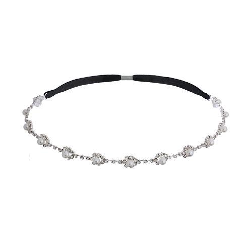 Crystal Allure Floral Headband
