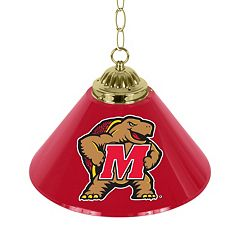 Maryland Terrapins Single-Shade 14' Bar Lamp