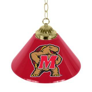 """Maryland Terrapins Single-Shade 14"""" Bar Lamp"""