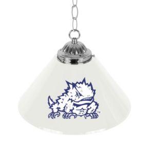 "TCU Horned Frogs Single-Shade 14"" Bar Lamp"