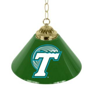 "Tulane Green Wave Single-Shade 14"" Bar Lamp"