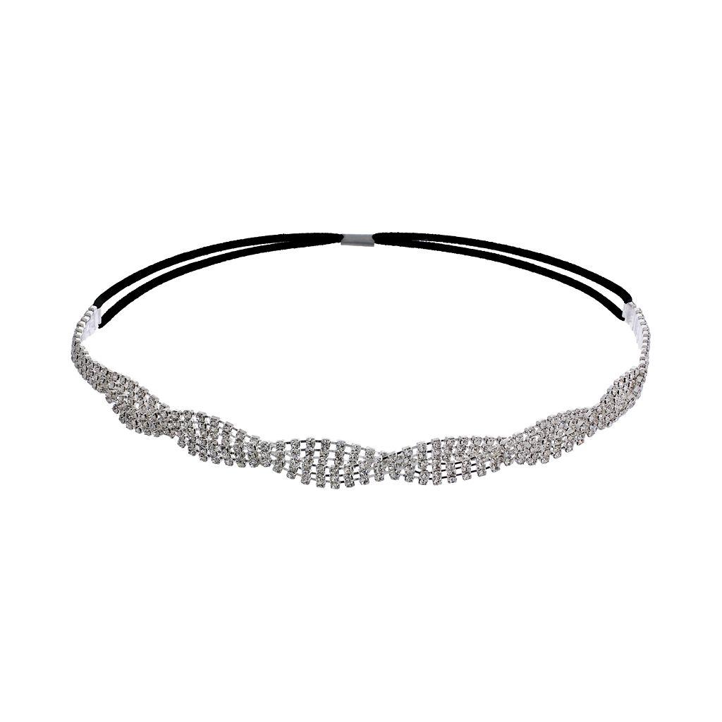 Crystal Allure Twist Headband