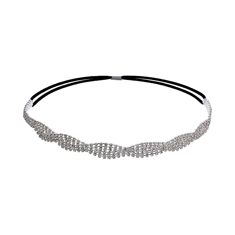 Crystal Allure Twist Headband