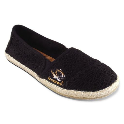 Women's Campus Cruzerz Missouri Tigers Napili Slip-On Shoes