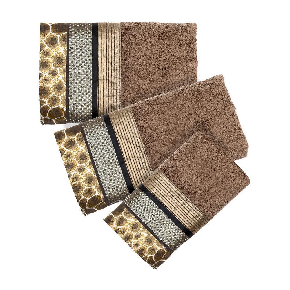 Brown Bathroom Accessories Safari Stripes Bathroom Accessories Collection