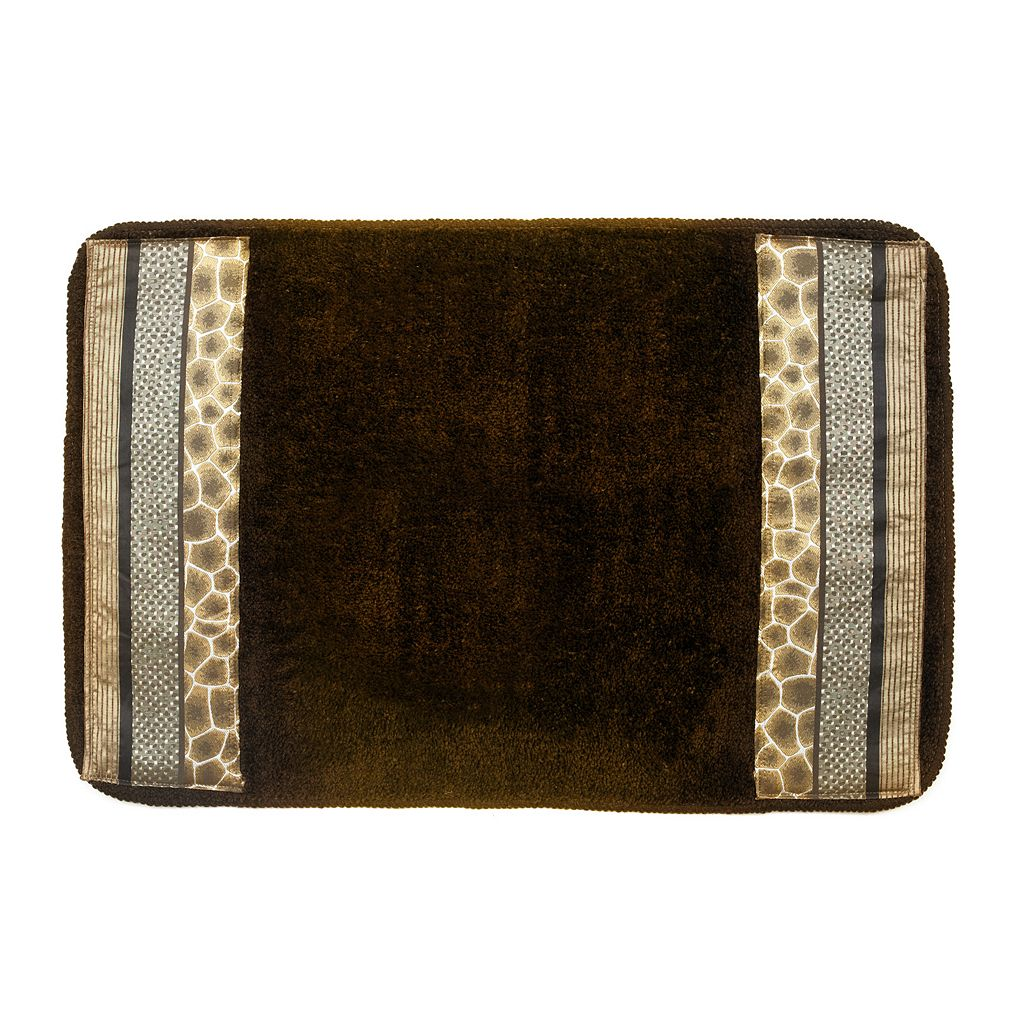 Safari Stripes Banded Bath Rug