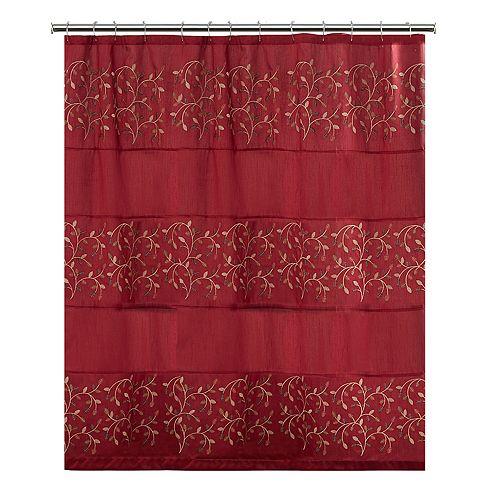 Aubury Fabric Shower Curtain