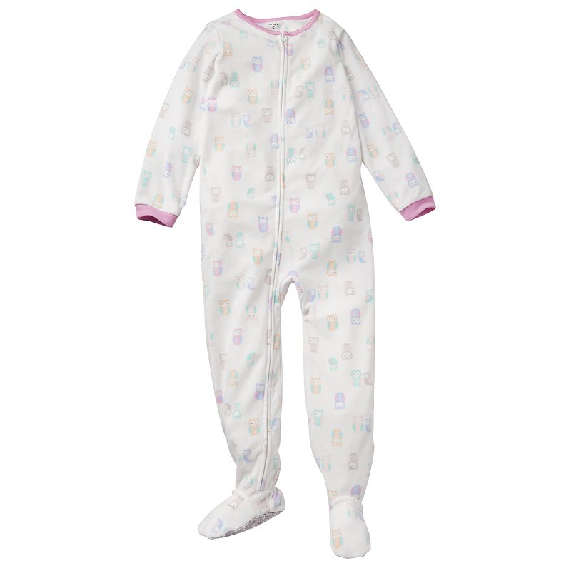 Footed Pjs For Girls Owl Footed Pajamas Girls