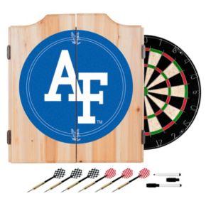 Air Force Falcons Wood Dart Cabinet Set