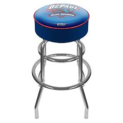 DePaul Blue Demons Padded Swivel Bar Stool
