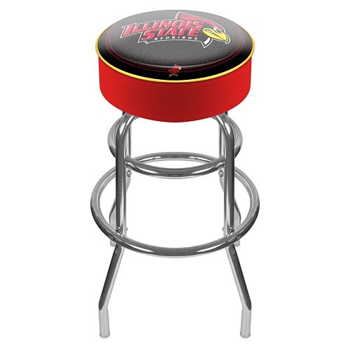 Illinois State Redbirds Padded Swivel Bar Stool
