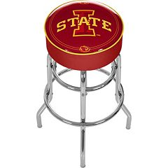 Iowa State Cyclones Padded Swivel Bar Stool