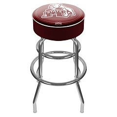 Mississippi State Bulldogs Padded Swivel Bar Stool